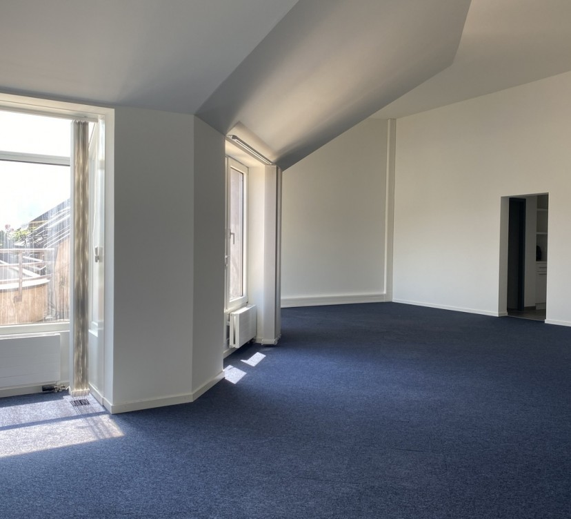 Bureaux d\'environ 65 m2 - En attique - Vue sur le Mont-BlancOffices of around 65 m2 - Attic - View of Mont-Blanc