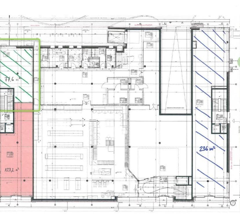 Surface commerciale neuve d\'env. 78 m2
