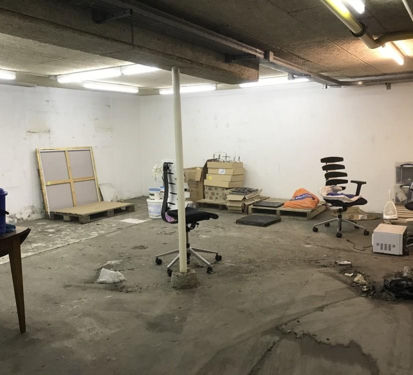 Dépôt d\'environ 55m2 au sous-solDeposit of approximately 55m2 in the basement