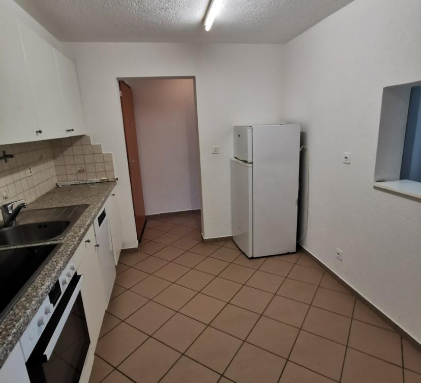 Appartement 2 pièces rez-inférieur