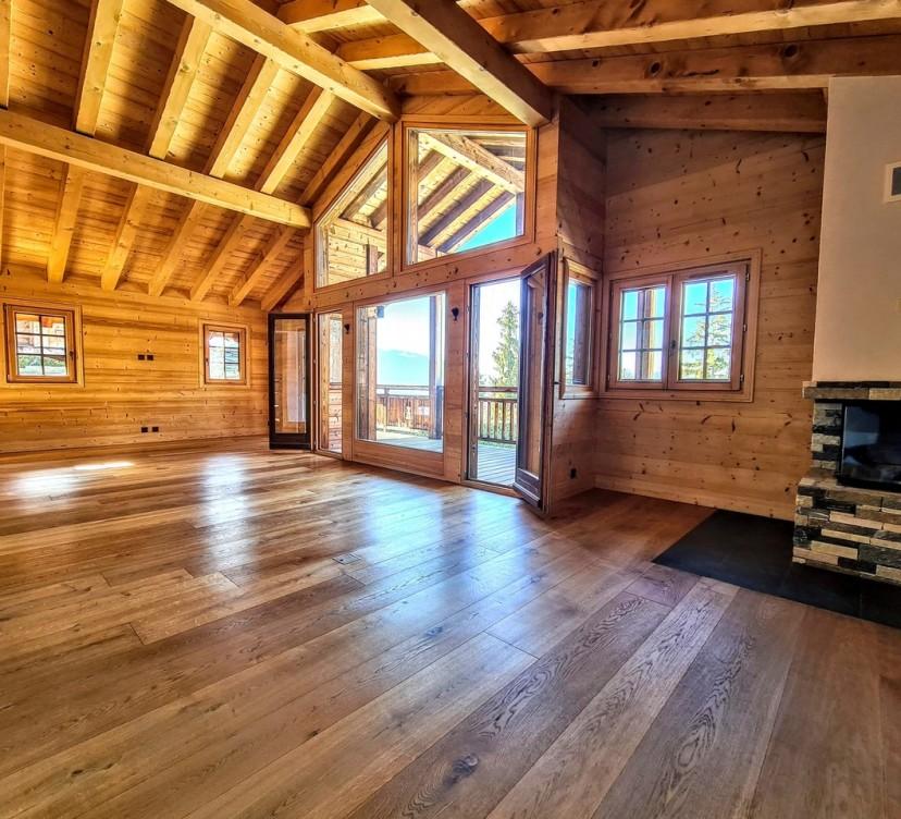 Magnifique chalet d\'environ 250m² à Crans-Montana